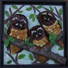"""""""Three Amigos"""" by Susan Turlington Mosaics, via Flickr"""