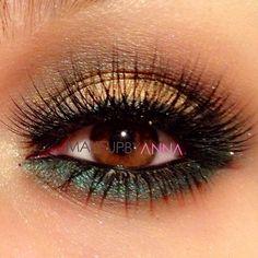soft smokey look.  #makeupbyanna