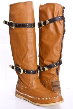 Western inspired pair of boots