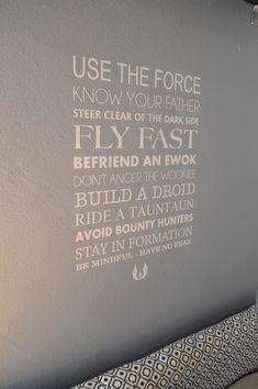 Star Wars Room wall decal