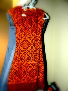 """I have sold 4 dresses to """"Little Me Boutique"""" This one was a shirt turned dress, the arms became leggings."""