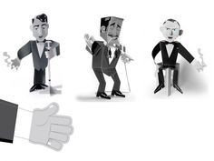 Frank Sinatra, Dean Martin y Sammy Davis Jr.