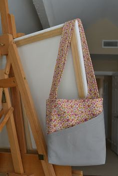 handmade mommy: Busy Bag Tutorial! love the angled pocket