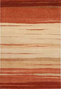 more modern take on a southwest rug, not enough red?