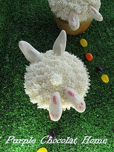 Bunny Bum Cupcakes ♥