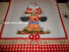 Papai Noel Country http://www.catiaartesmanuais.com/
