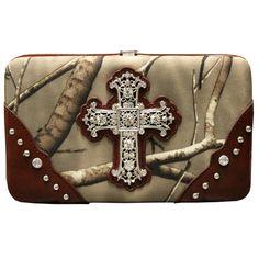 Realtree Camo Cross Wallet
