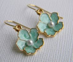 These earrings are SO pretty and this is the color that I am currently extremely into.