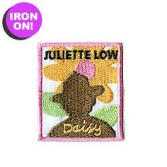 Juliette Low Daisy Patch! As low as $.49. More Girl Scout Fun Patches on MakingFriends.com