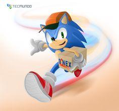 O que os personagens fazem depois de terminar os games [ilustração] - Sonic