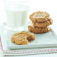 Diabetic Desserts  | Peanut Butter Cookies | MyRecipes.com