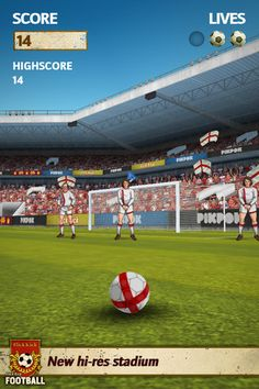 Flick Kick Football v 1.10.1 (iPhone / iPod Touch / iPad) (Game)