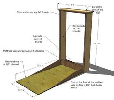 How to Murphy Bed diy-projects