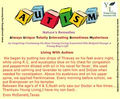 Young Living Essential Oils: Autism Testimony