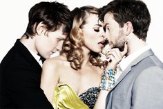 Matt Smith, David Tennant, Billi Piper. This is the sexiest thing I have ever seen.