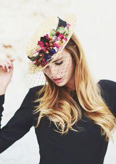 @Cherubina hats & headpieces The Boater