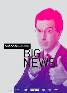 Viacom Projects / Michael Croxton # michaelcroxton #grafica #poster #gradient
