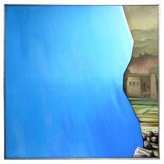 """Eugene Bavinger """"Loire Valley"""" Painting"""