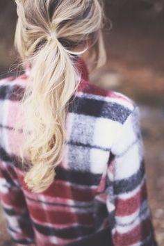 love this plaid coat!