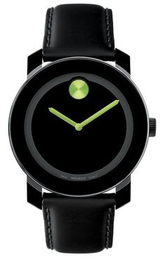 lime green movado... I'm in love
