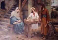 joseph, holi famili, father day, child jesus, saint, boy jesus