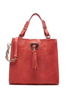ELLIOTT LUCCA  Narrillos Tote, Cayenne Exotic