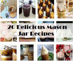 20 Delicious Mason Jar Recipes