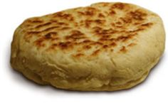 Bannock (bread)- The Métis ate a lot of 'bannock'. Bannock was a combination of Scottish bread and Indian fry bread that could be baked in an oven, cooked in a skillet over a fire, or fried. The benefit of bannock was that it was easy to make and transport. It also lasted a long time without spoiling, and was quite filling. The Métis harvested wild turnips, peeled and dried them, and then pounded them into flour for use in the bannock. They also traded with the HBC and NWC for flour.