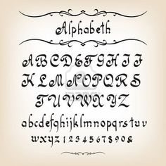 calligraphy font #3