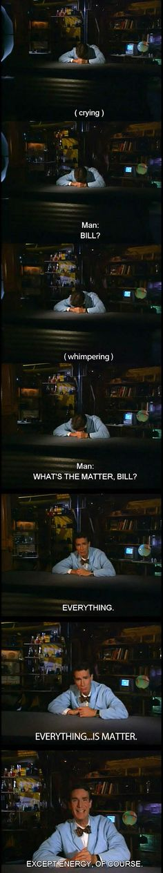 What's the matter, Bill?