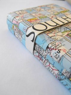 Recycling: Top 10 Vintage Map projects