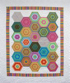 Beach Umbrellas quilt pattern by Nellie J Designs / Janelle Cedusky