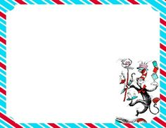Dr. Seuss Primary writing papers (FREE)