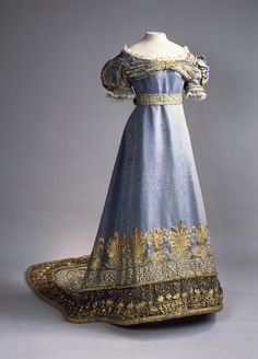 Dress worn by Maria Feordorovna, Russia, 1820's