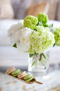 white peony and pistachio