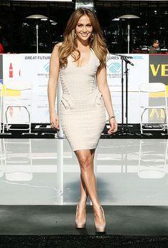 Jennifer Lopez has a pear shaped body