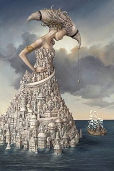 "Tomek Setowski   ""Lost Ship"".....Love love Love! Beautifulest and exquisite!"