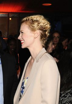 Think You're Sick of Braids? I Did Too Until I Saw This Insanely Cool Updo on January Jones. You Must See It!