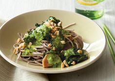 Coconut Soba Noodles with Ginger Kale | Vegetarian Times