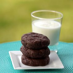 Double chocolate chip cookies - these were some of the biggest and richest cookies I have ever had! Definitely have to eat them with a glass of milk at the ready, but boy were they good!