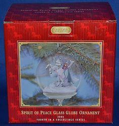 Glass Globe Spirit Of Peace  Nib