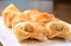 Sriracha Pulled Pork Wontons #recipe