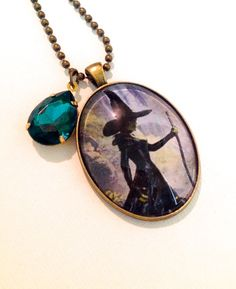 Oz the Great and Powerful Inspired Necklace, Wicked Witch Jewelry, Disney's Wizard of Oz Movie. $20.00, via Etsy.