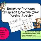 This Sorting activity is a great way for your students to match nouns with reflexive pronouns. The activity is great for a literacy center or partn...