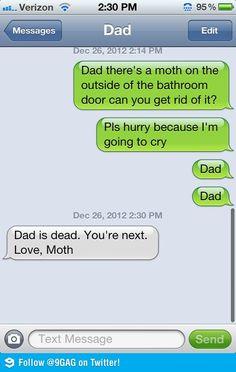 evil moth