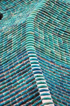 Blue Tile Roof, Guangzhou, China