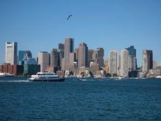 Boston Skyline #massachusetts #travel Photo Credit: Tim Grafft