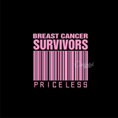 Priceless Barcode for Breast Cancer Survivors Awareness #Pink Ribbon #Car Sticker