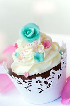 Cutest floral Cupcakes