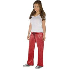 Touch by Alyssa Milano Atlanta Falcons Ladies Star Player Pants - Red